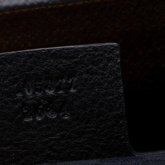 Gucci Leather Satchel in Black Image 7