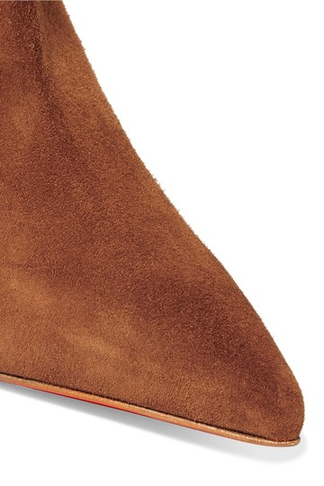Christian Louboutin Leather Stiletto brown Boots Image 1