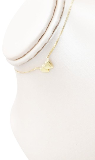 Preload https://img-static.tradesy.com/item/26197987/macy-s-gold-14k-polished-double-heart-choker-necklace-0-2-540-540.jpg