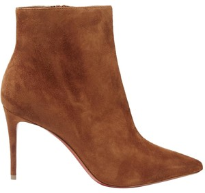 Christian Louboutin Leather Stiletto brown Boots