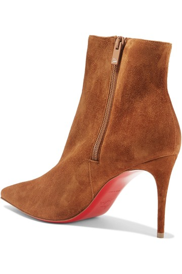 Christian Louboutin Leather Stiletto brown Boots Image 3