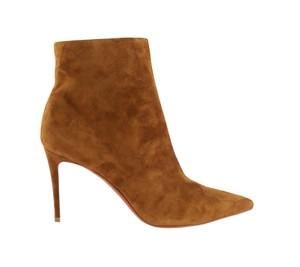 Christian Louboutin Suede Leather Brown Boots