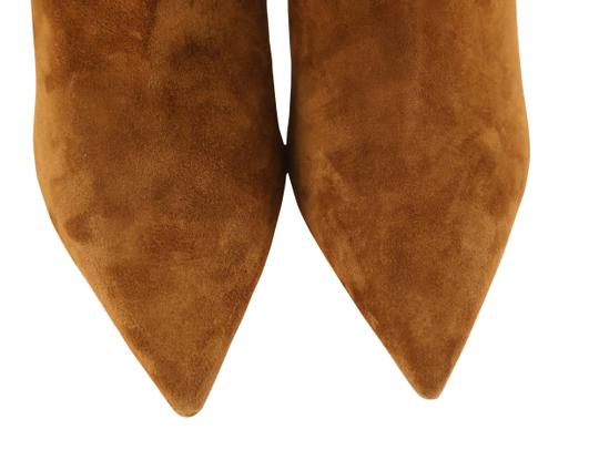 Christian Louboutin Suede Leather Brown Boots Image 5