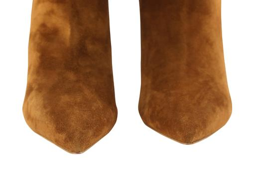 Christian Louboutin Suede Leather Brown Boots Image 6