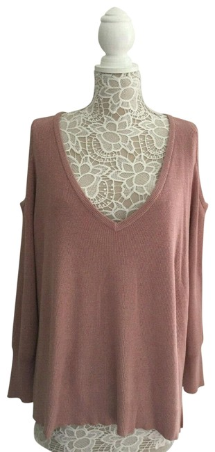 Preload https://img-static.tradesy.com/item/26198010/14th-and-union-cold-shoulder-sweater-0-1-650-650.jpg