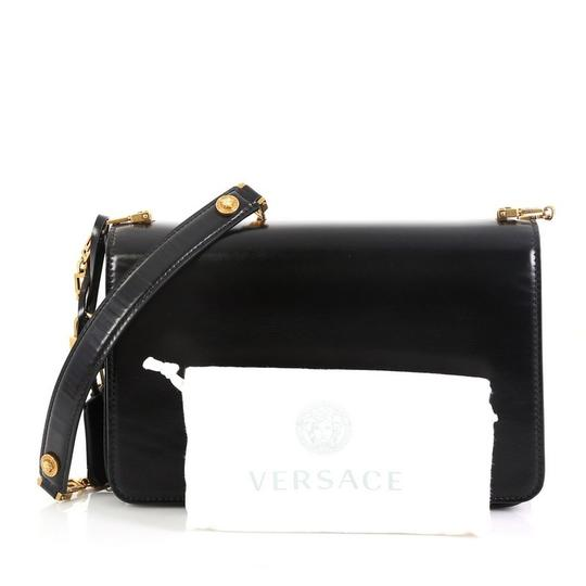 Versace Leather Medusa Padlock Satchel Image 1