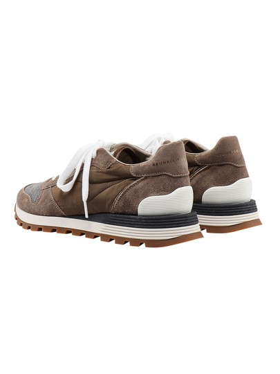 Brunello Cucinelli Sneaker Mzsfg1591 Brown Athletic Image 1