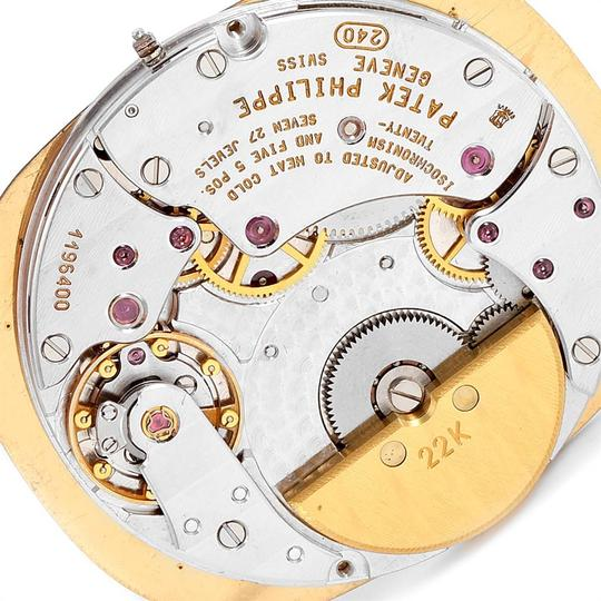 Patek Philippe Patek Philippe Golden Ellipse Yellow Gold Blue Dial Watch 3738 Papers Image 5