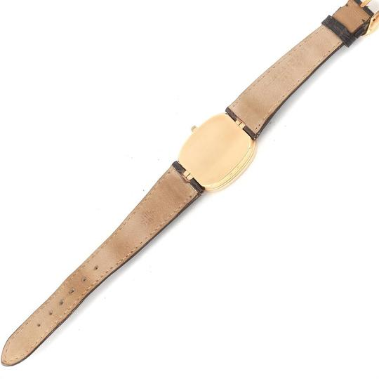 Patek Philippe Patek Philippe Golden Ellipse Yellow Gold Blue Dial Watch 3738 Papers Image 8