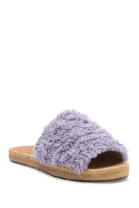 UGG Australia Slide Edith New Fur Purple Mules