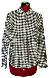 J.CREW Boy Fit Gingham Button Down Shirt Multicolor