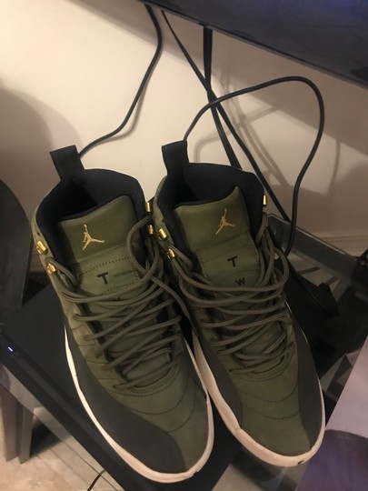 Air Jordan Olive Green Athletic Image 1