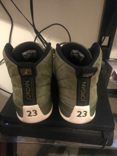 Air Jordan Olive Green Athletic Image 2