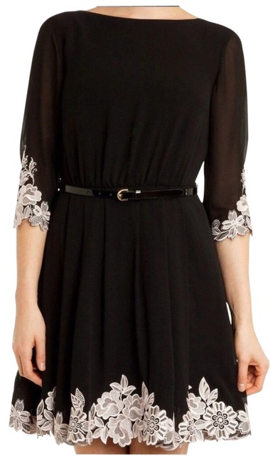 Preload https://img-static.tradesy.com/item/26198375/ted-baker-lace-trimmed-mid-length-formal-dress-size-0-xs-0-2-650-650.jpg