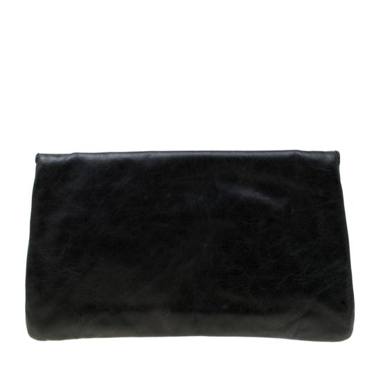 Balenciaga Leather Grey Clutch Image 1
