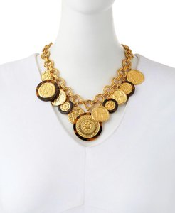 Tory Burch Shiloh statement necklace