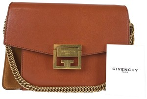 Givenchy Leather Gv3 Cross Body Bag