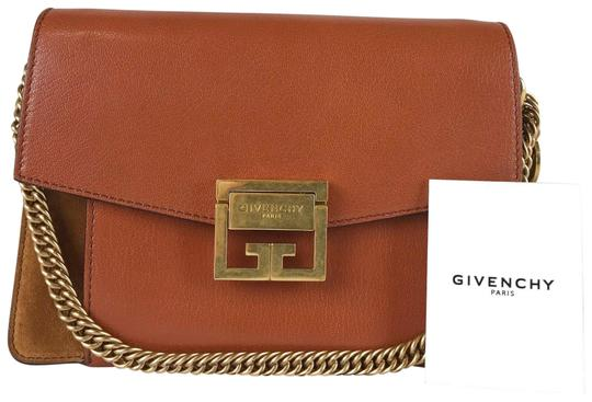 Preload https://img-static.tradesy.com/item/26198491/givenchy-suede-gv3-2-way-sale-brown-leather-cross-body-bag-0-1-540-540.jpg