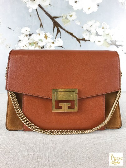 Givenchy Leather Gv3 Cross Body Bag Image 1