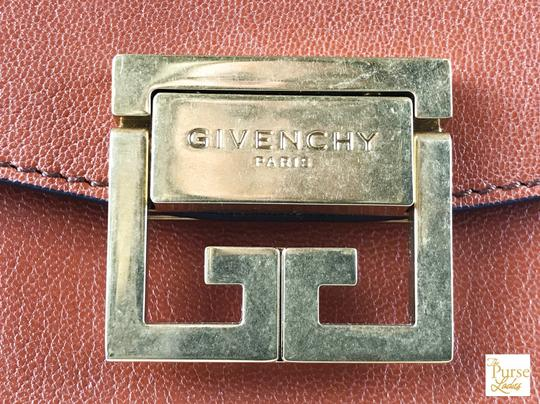 Givenchy Leather Gv3 Cross Body Bag Image 8