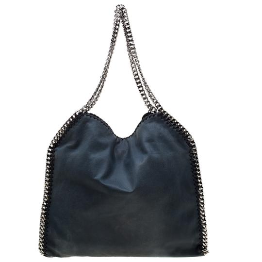 Stella McCartney Leather Tote in Green Image 1