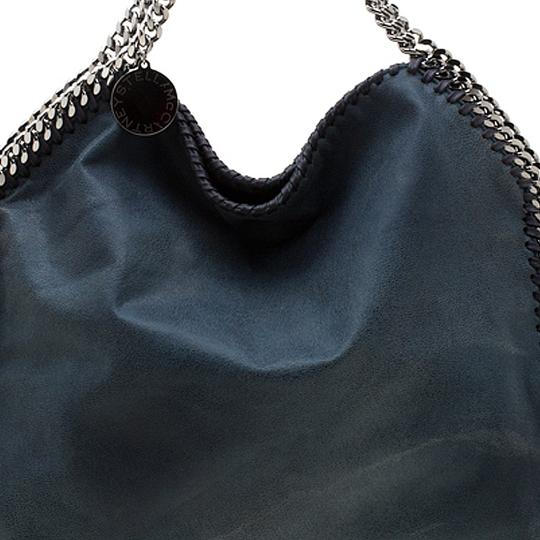 Stella McCartney Leather Tote in Green Image 8