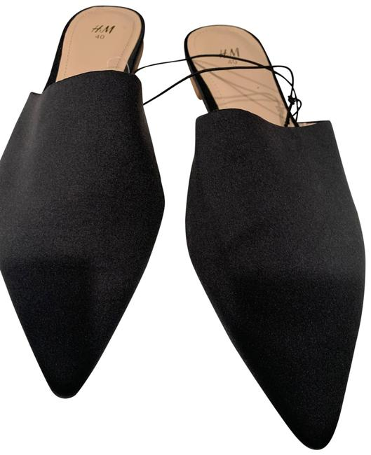 Item - Black Flats Size US 8.5 Regular (M, B)