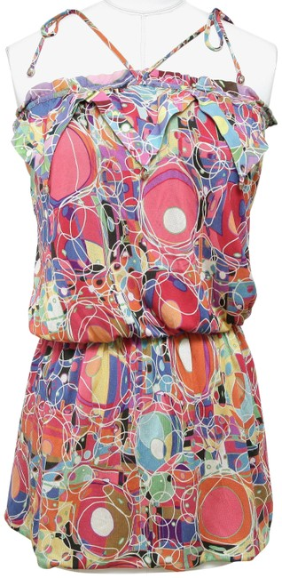 Preload https://img-static.tradesy.com/item/26198649/chanel-multicolor-blouse-sleeveless-tie-pink-print-yellow-36-spring-2008-tunic-size-4-s-0-1-650-650.jpg