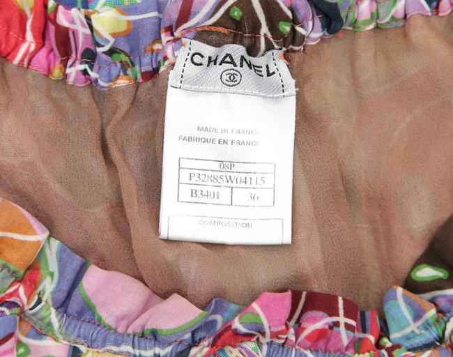 Chanel Blouse Print Tunic Image 10