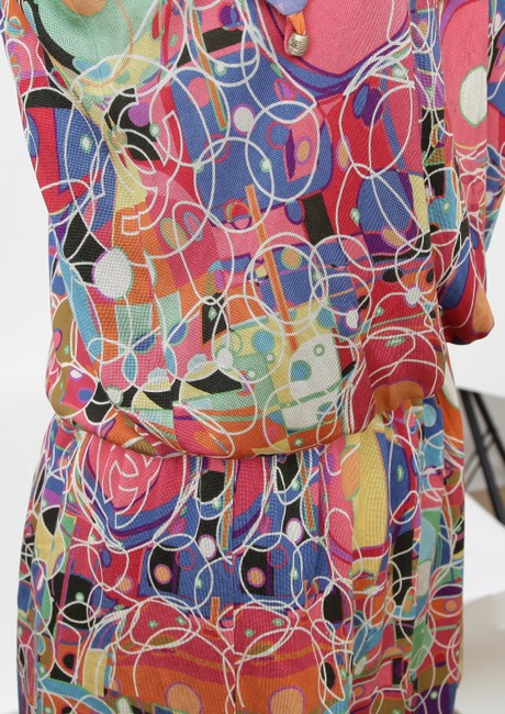 Chanel Blouse Print Tunic Image 6