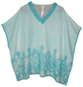 Chico's Poncho Rayon Dyed Tunic