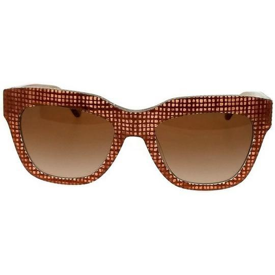 Tory Burch TY7126-173713-53 Square women's Brown Frame Grey Lens Sunglasses Image 1