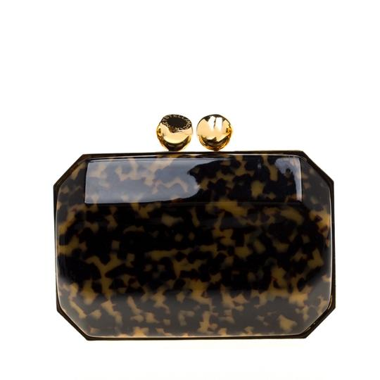 Stella McCartney Satin Black Clutch Image 1