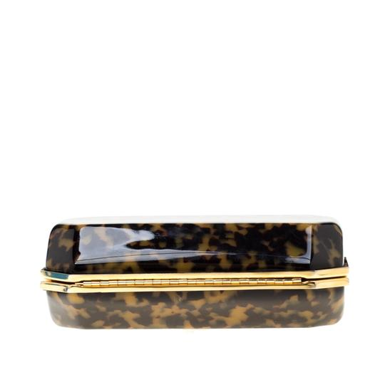 Stella McCartney Satin Black Clutch Image 4