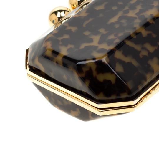 Stella McCartney Satin Black Clutch Image 5