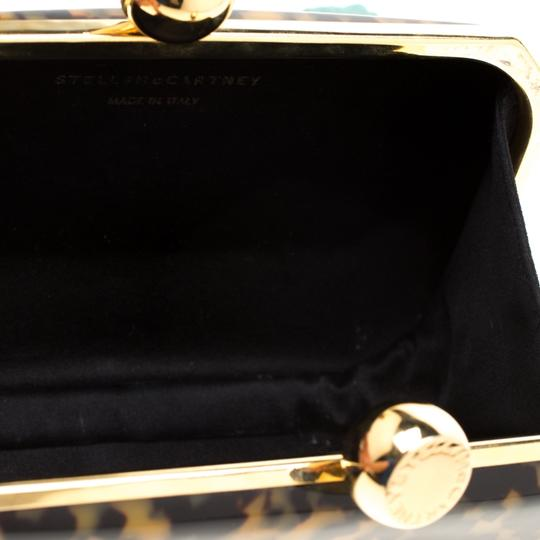 Stella McCartney Satin Black Clutch Image 7