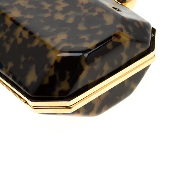 Stella McCartney Satin Black Clutch Image 8