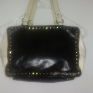 Badgley Mischka Black and white Clutch