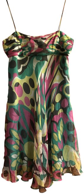 Item - Multicolor An Of New York Short Night Out Dress Size 2 (XS)