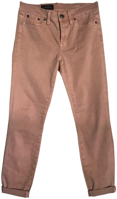 Item - Pink New Stretch Toothpick In 27. Straight Leg Jeans Size 4 (S, 27)