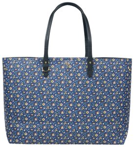 Tory Burch Kerrington Tote in Blue Wild Pansy