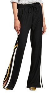 Who What Wear x Target Track Trouser Athleisure Track Relaxed Pants Black Yellow White