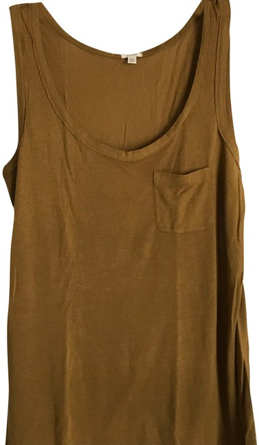 Item - Brown XS W Suiting W/Pocket On Front In Xs. Tank Top/Cami Size 2 (XS)