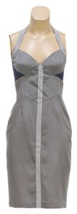 Rag & Bone Gray Halter Top