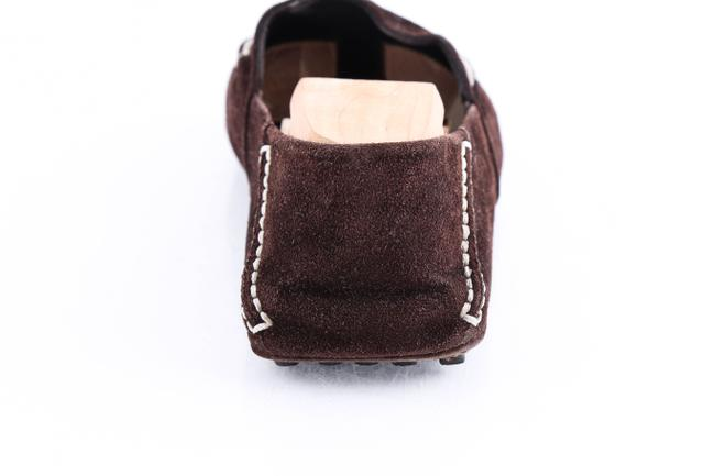 Louis Vuitton Brown Suede Slip On Loafers Shoes Louis Vuitton Brown Suede Slip On Loafers Shoes Image 11