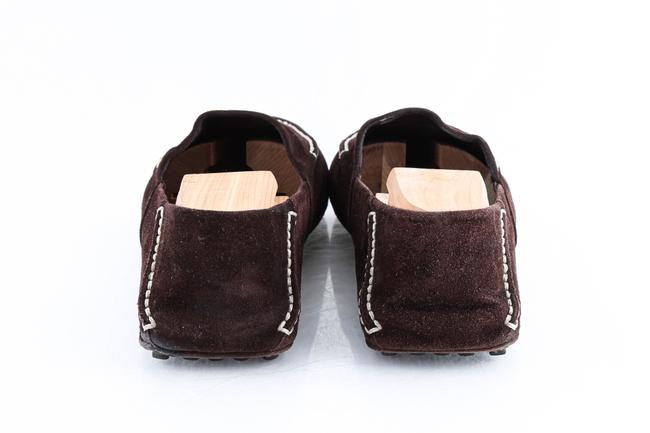 Louis Vuitton Brown Suede Slip On Loafers Shoes Louis Vuitton Brown Suede Slip On Loafers Shoes Image 5