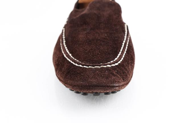 Louis Vuitton Brown Suede Slip On Loafers Shoes Louis Vuitton Brown Suede Slip On Loafers Shoes Image 8