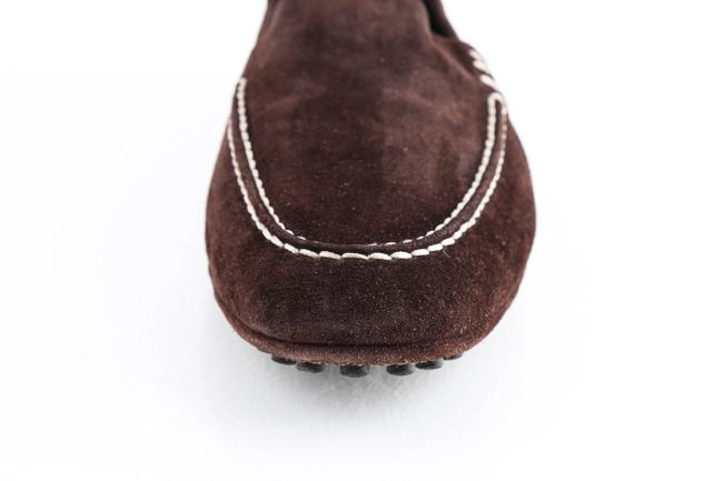 Louis Vuitton Brown Suede Slip On Loafers Shoes Louis Vuitton Brown Suede Slip On Loafers Shoes Image 9
