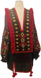 MARCH11 Embroidered Linen Style Tunic