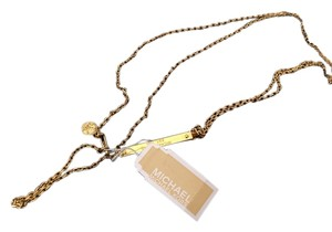Michael Kors Mk Long Gold Necklace